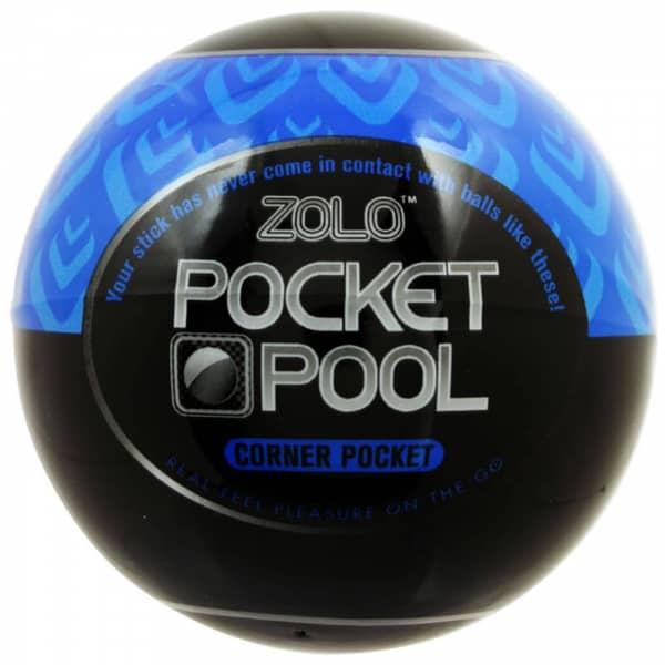 Zolo - Pocket Pool Corner Pocket Blue