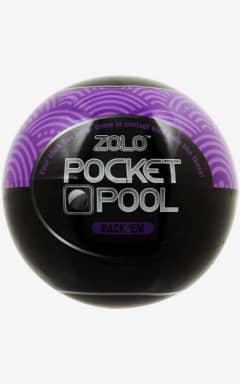 För honom Zolo - Pocket Pool Rack Em Purple