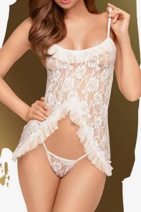 Sexiga Underkläder Penthouse Flawless Love white S/M