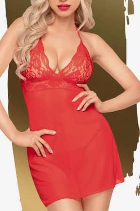 Sexiga Underkläder Penthouse Bedtime story red