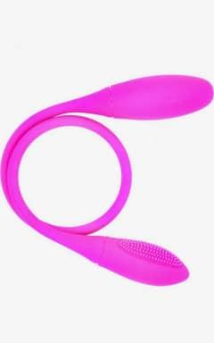 Dildos med vibrator Dual Vibration Pleasure