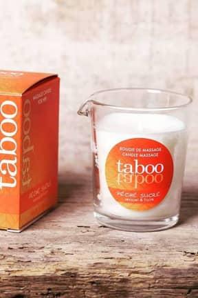 Massage Taboo Peche Massage Candle