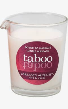 Massage Taboo Caresses Ardentes Massage Candle