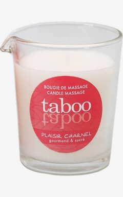 Massage Taboo Plaisir Charnel Massage Candle