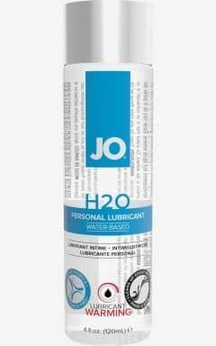 Glidmedel JO H2O Warming - 120 ml