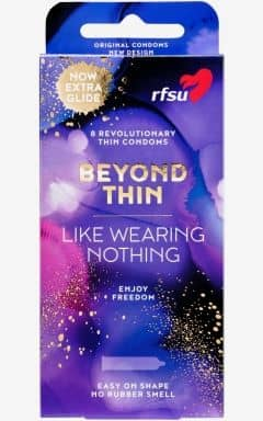 REA RFSU Beyond Thin - 8-pack