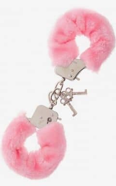 Pipedream Furry Love Cuffs - Rosa