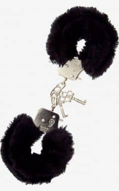 BDSM Furry Love Cuffs - Svart