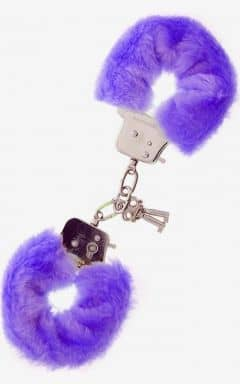 Pipedream Furry Love Cuffs - Lila