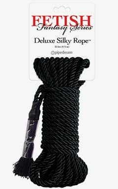Japanese Silk Rope - Svart