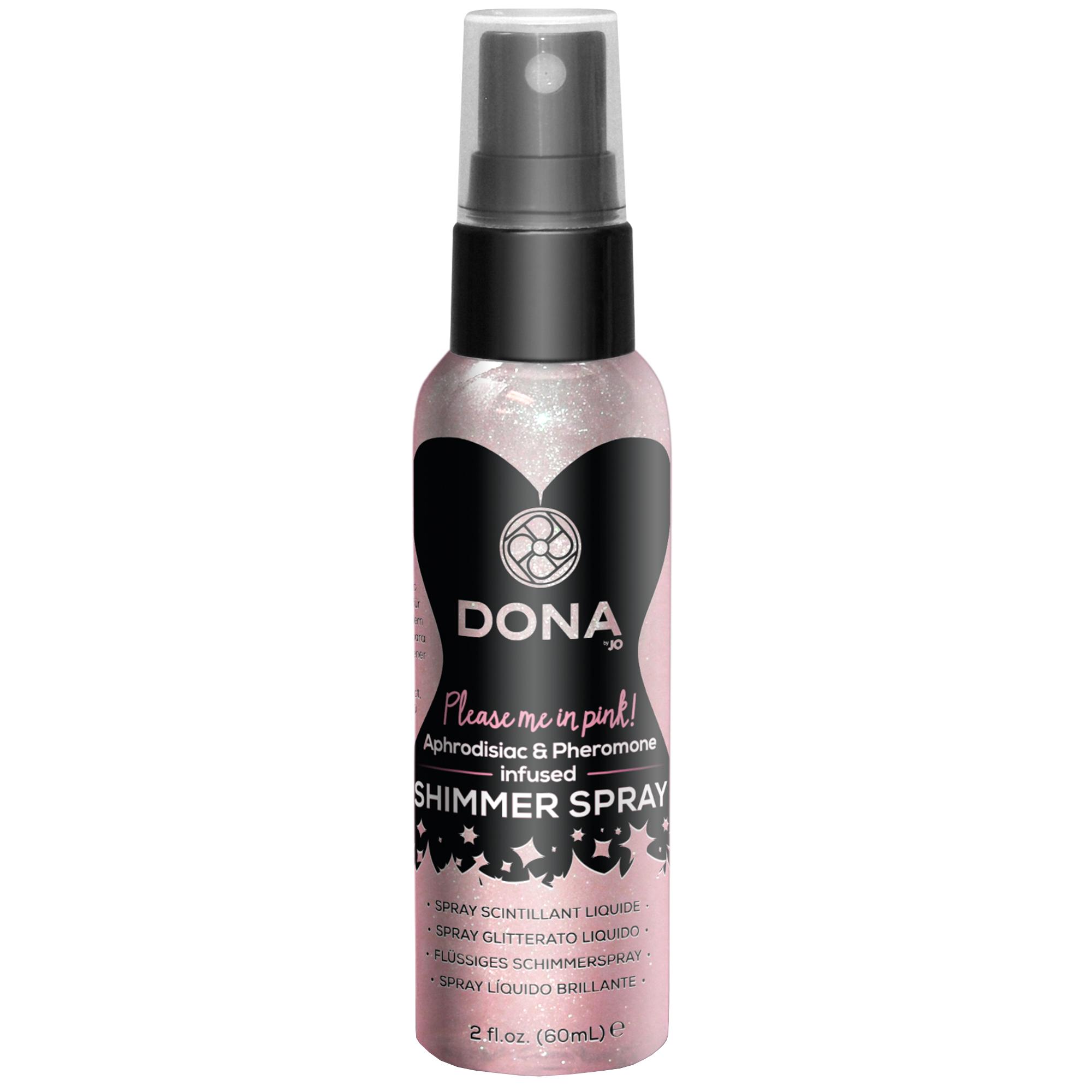 Dona shimmer spray - pink   Apotek, Lustökande & fördröjande, Lustökande   Intimast.se - Sexleksaker