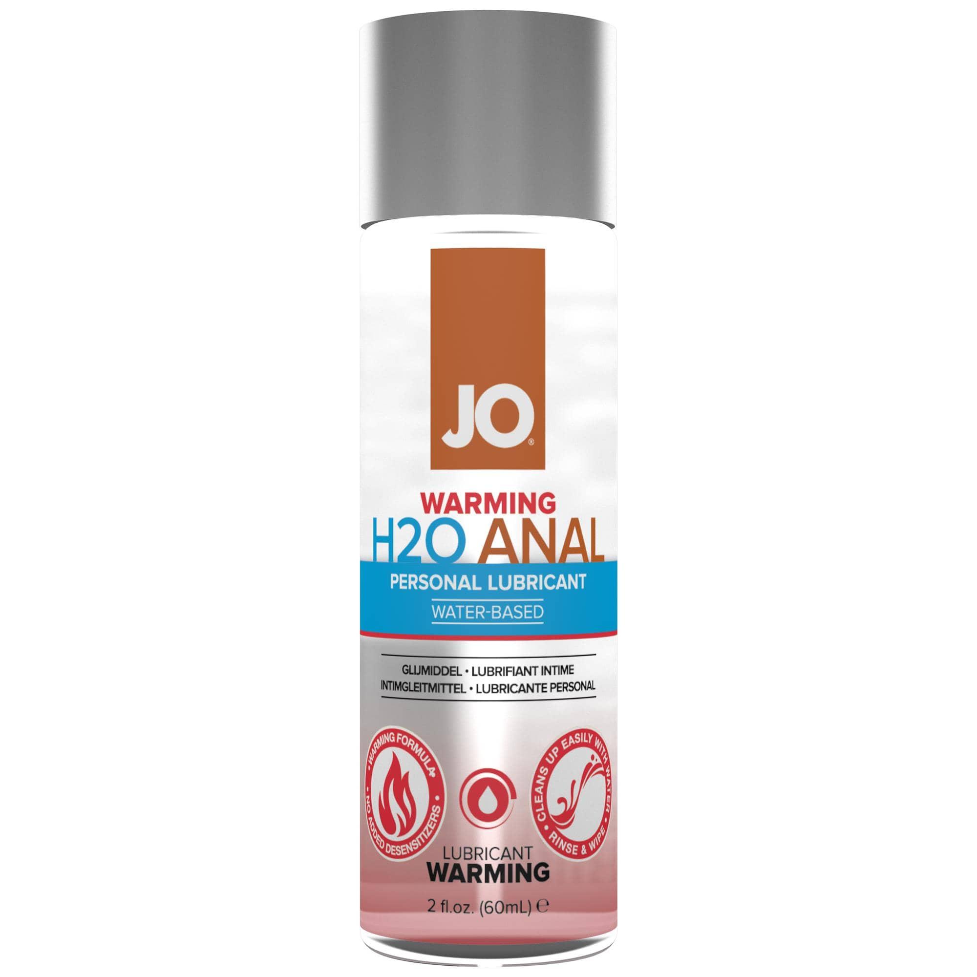 JO Anal H2O Waterbased Warming Lube 60 ml