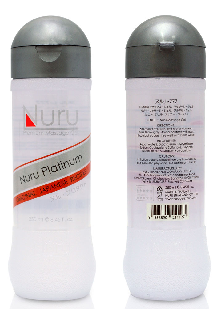 Nuru Massage Platinum - 250 ml | Apotek, Massage, Massageolja | Intimast.se - Sexleksaker