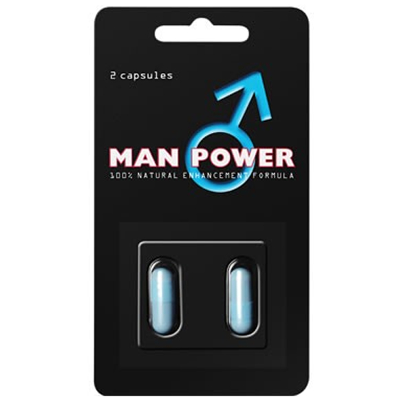 Man Power - 2 kapslar