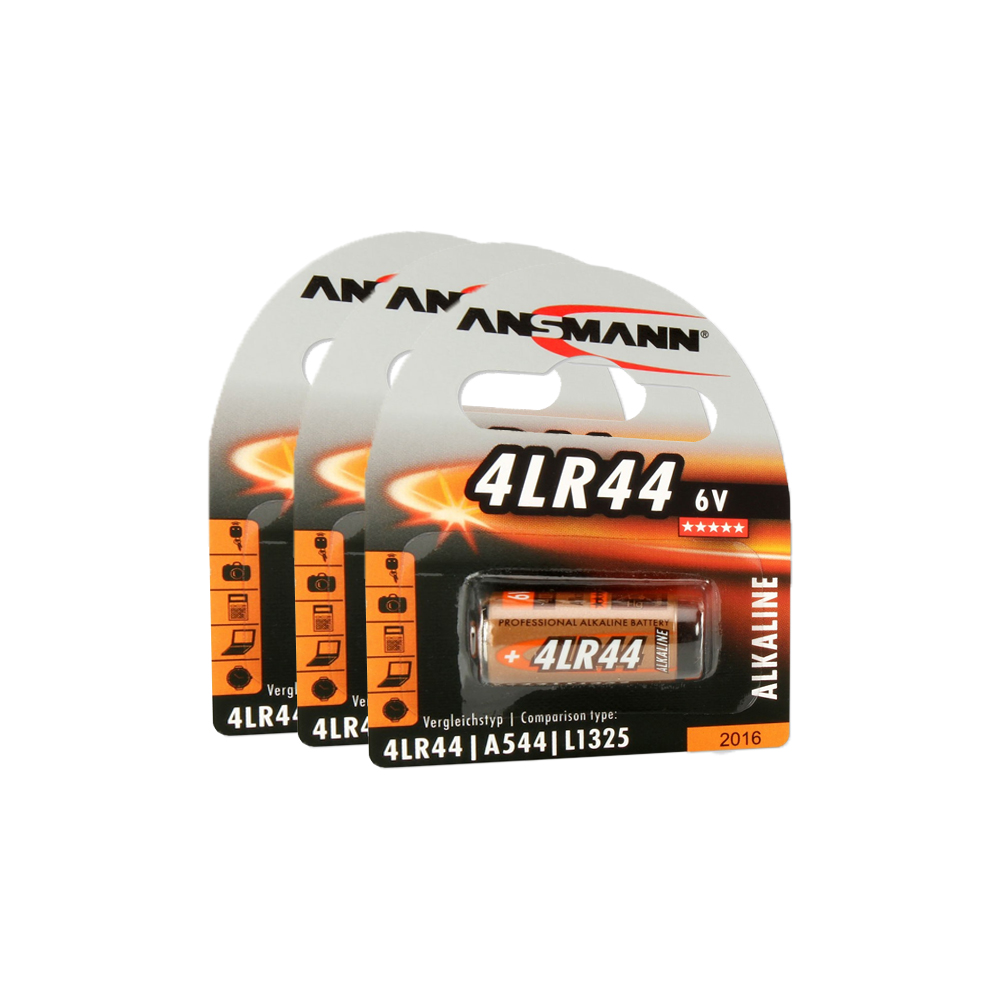 Batteripaket 3 x LR44