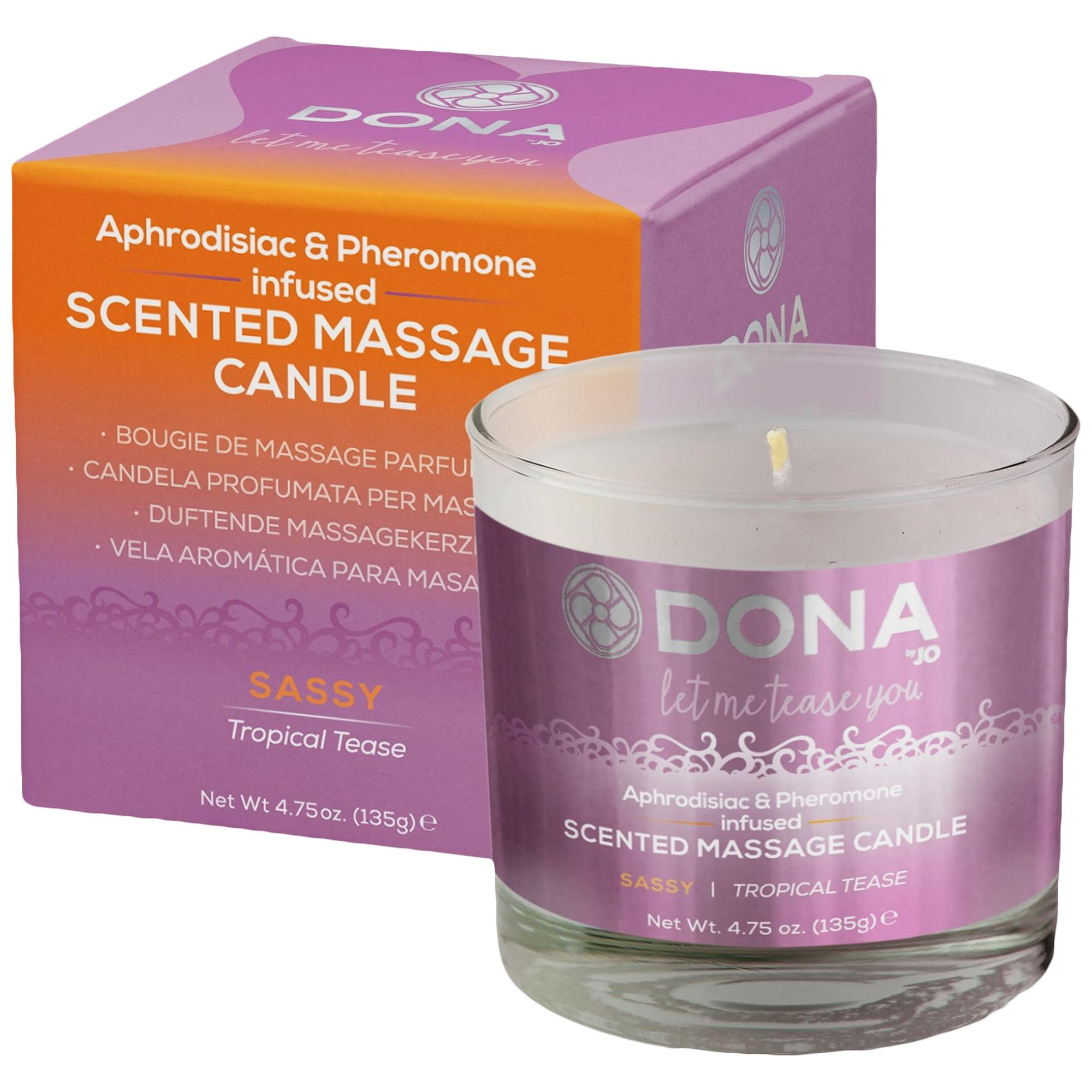 Scented massage candle - sassy | Apotek, Massage, Massageljus | Intimast.se - Sexleksaker