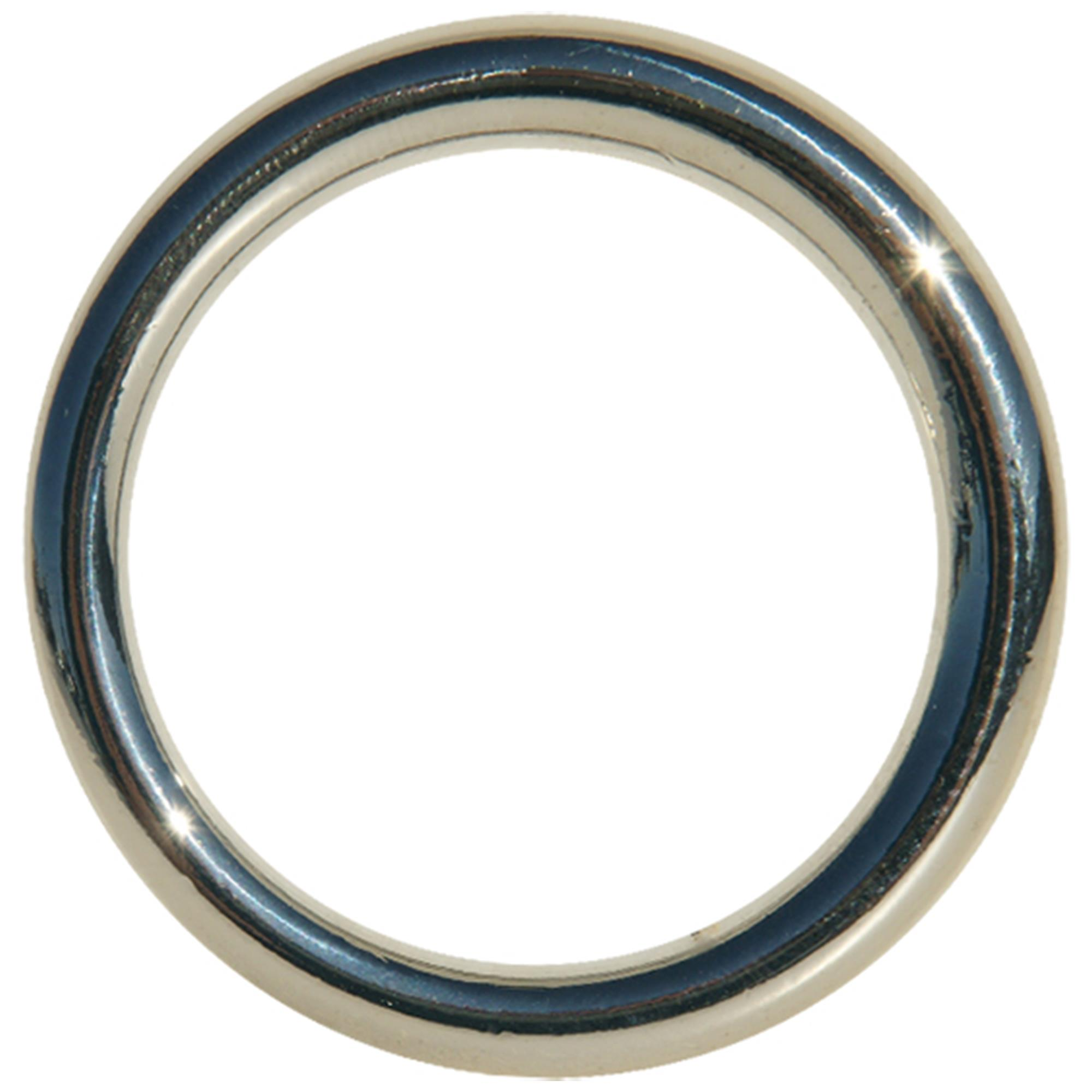Edge Seamless Metal Ring 4,5 cm
