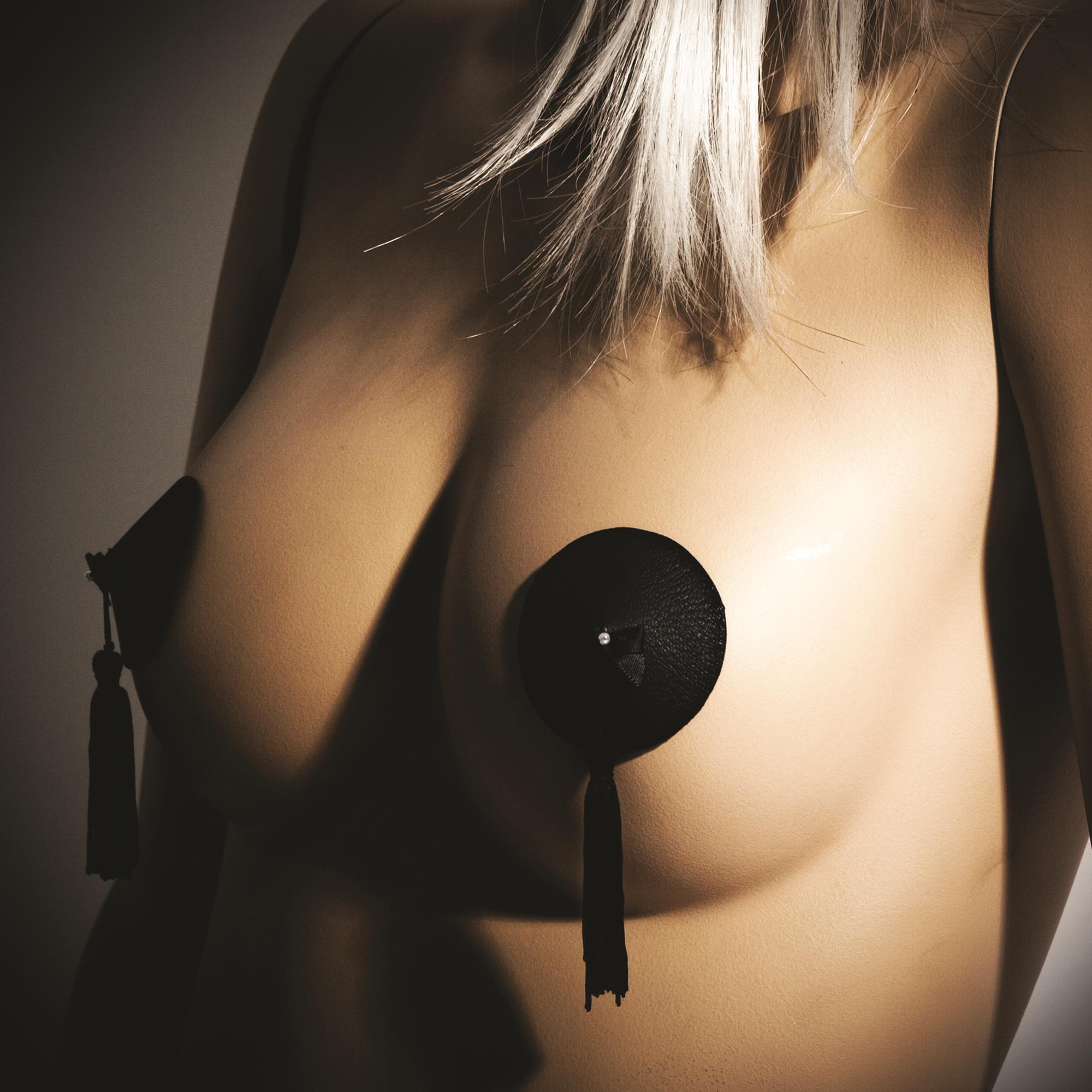 Bijoux Indiscrets Burlesque Pasties Black