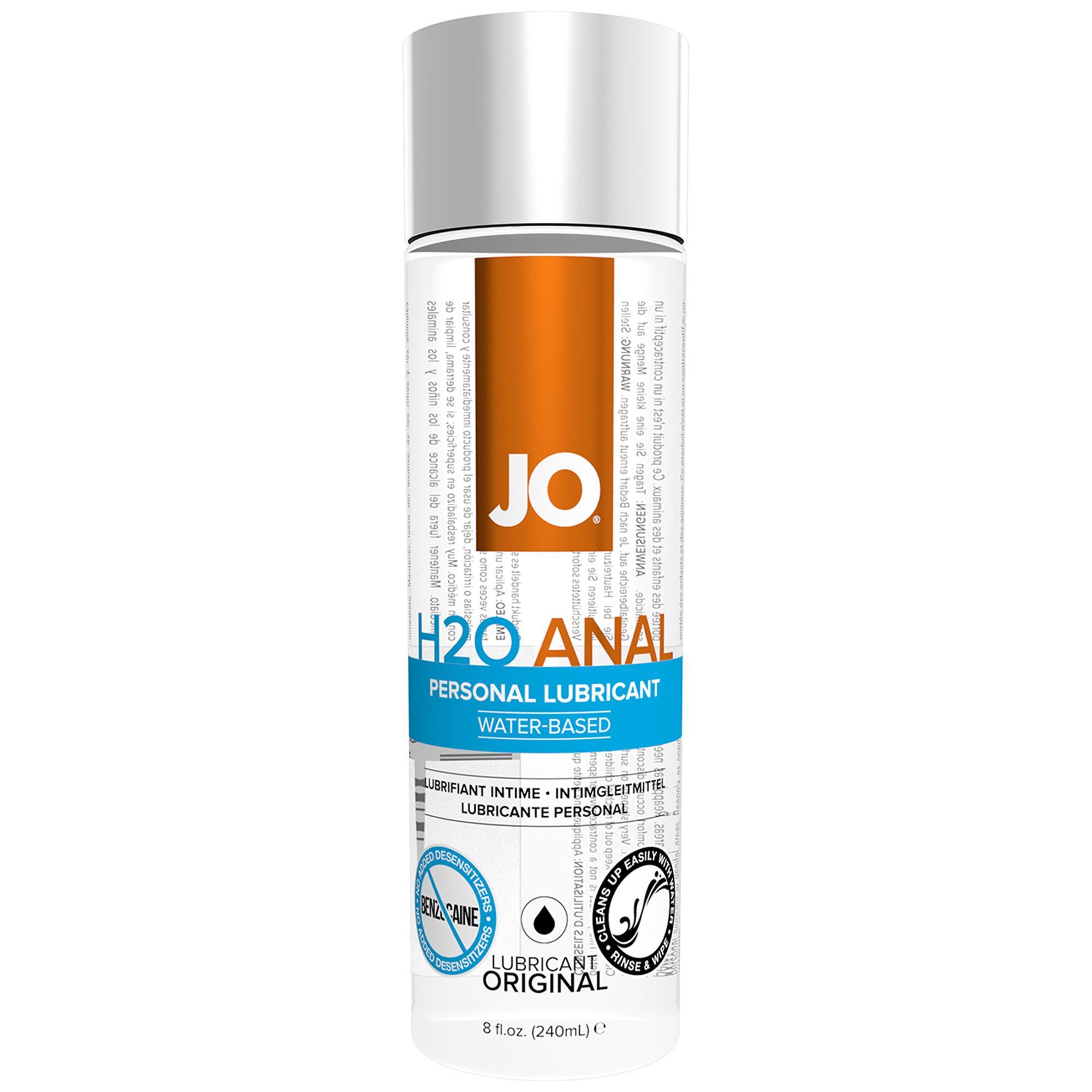 JO Anal H2O - 240 ml   Apotek, Glidmedel, Analglidmedel   Intimast.se - Sexleksaker