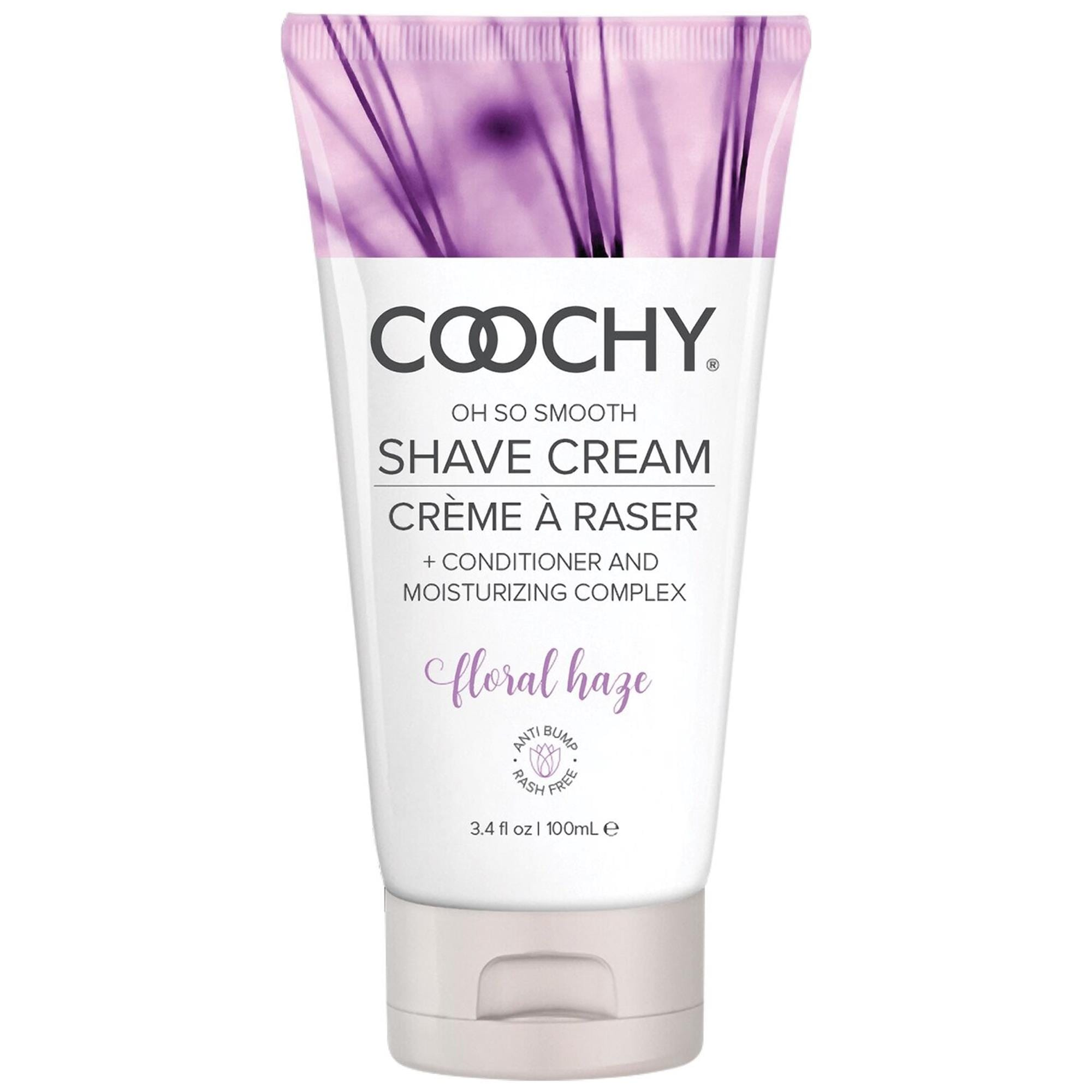 Coochy Shave Cream Floral Haze 100 ml   Apotek, Intimhygien, Intimrakning   Intimast.se - Sexleksaker
