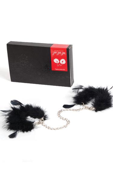 ZA ZA ZU - Handbojor av dun och fjädrar