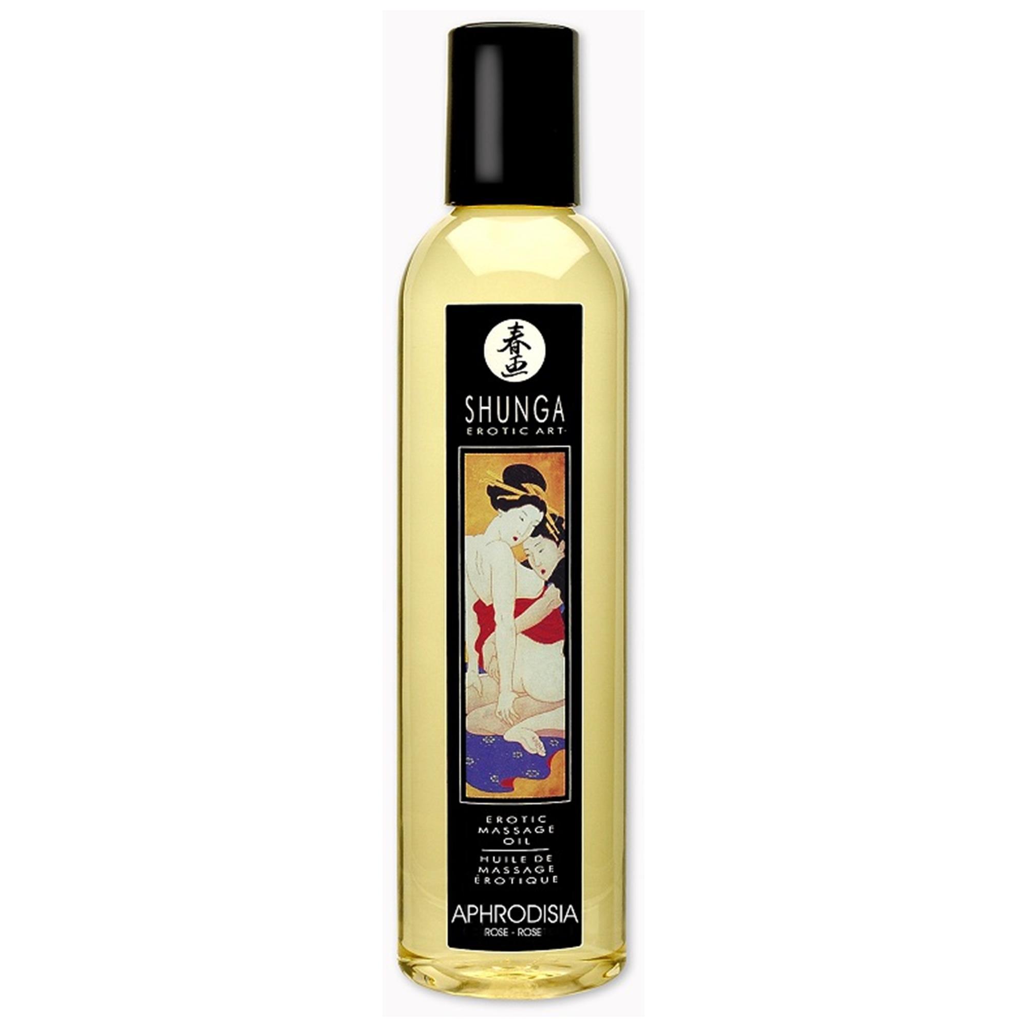 Shunga Massage Oil Aphrodisia (Rose) | Apotek, Massage, Massageolja | Intimast.se - Sexleksaker