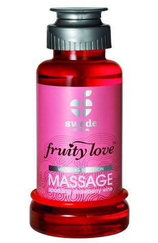 Fruity Love Massage Sparkling Strawberry Wine