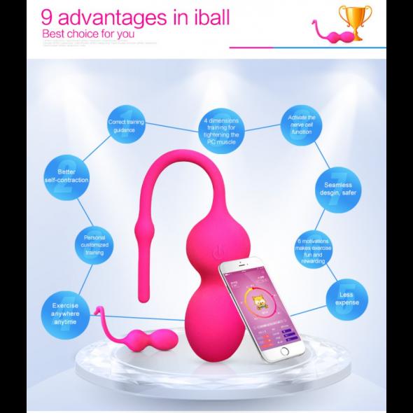 Iball Smart-app Pelvic Floor Exercise Tracker