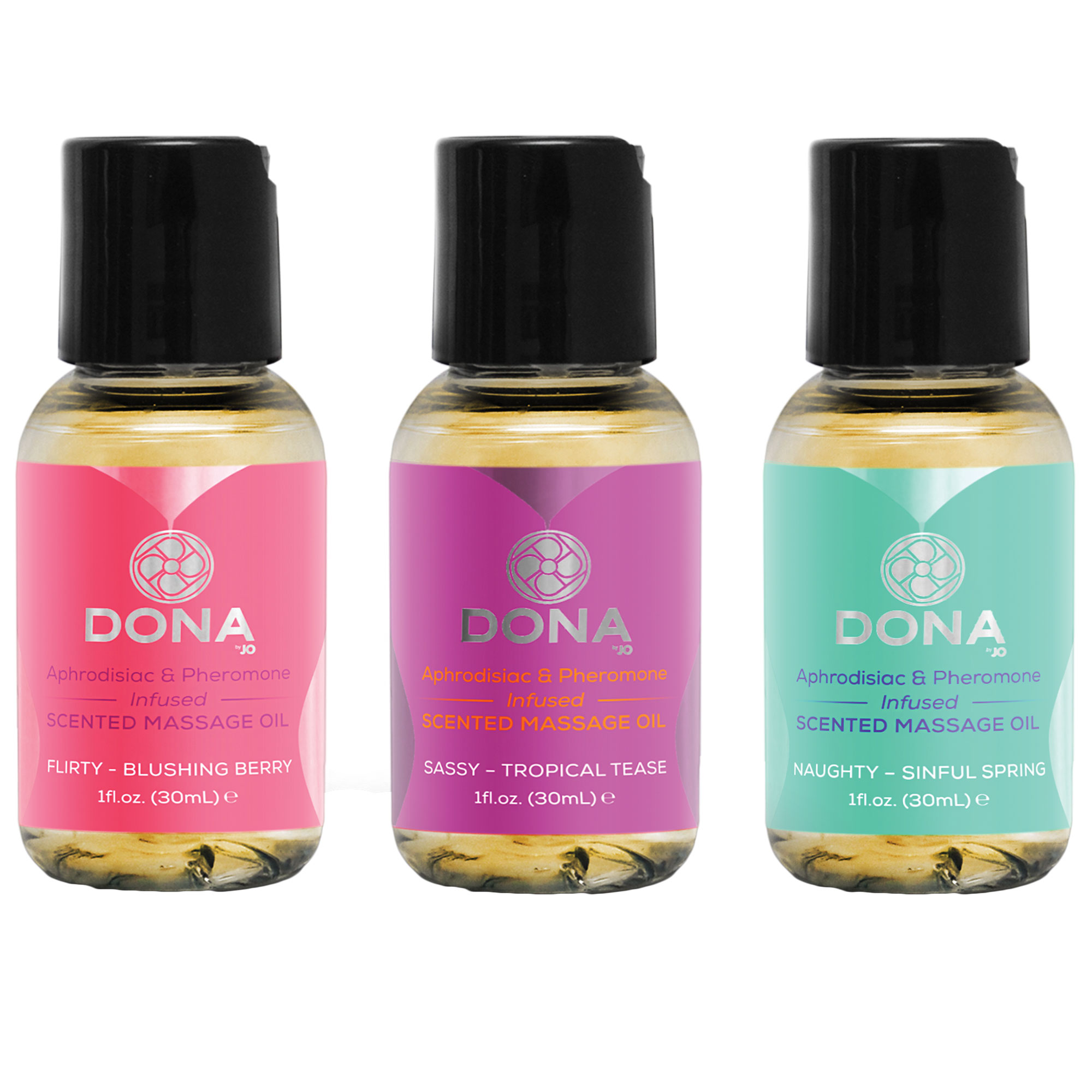Dona Let Me Touch You Gift Set (3x30 ml) | Apotek, Massage, Massageolja | Intimast.se - Sexleksaker