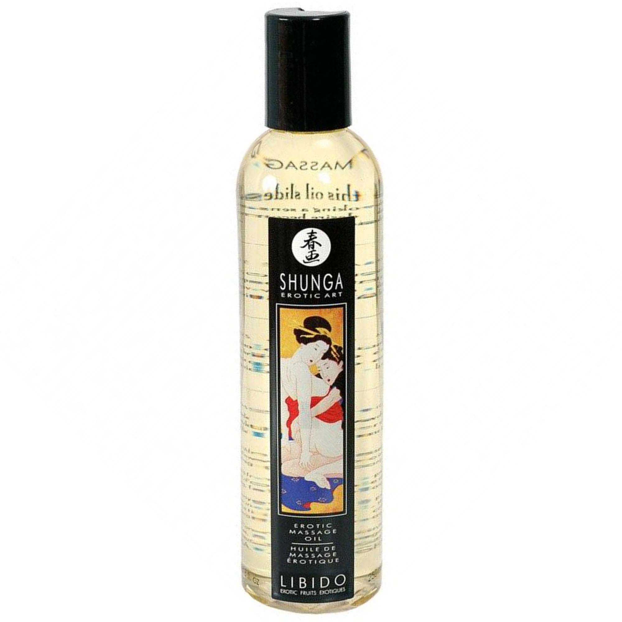 Shunga Massage Oil Libido - 250 ml | Apotek, Massage, Massageolja | Intimast.se - Sexleksaker