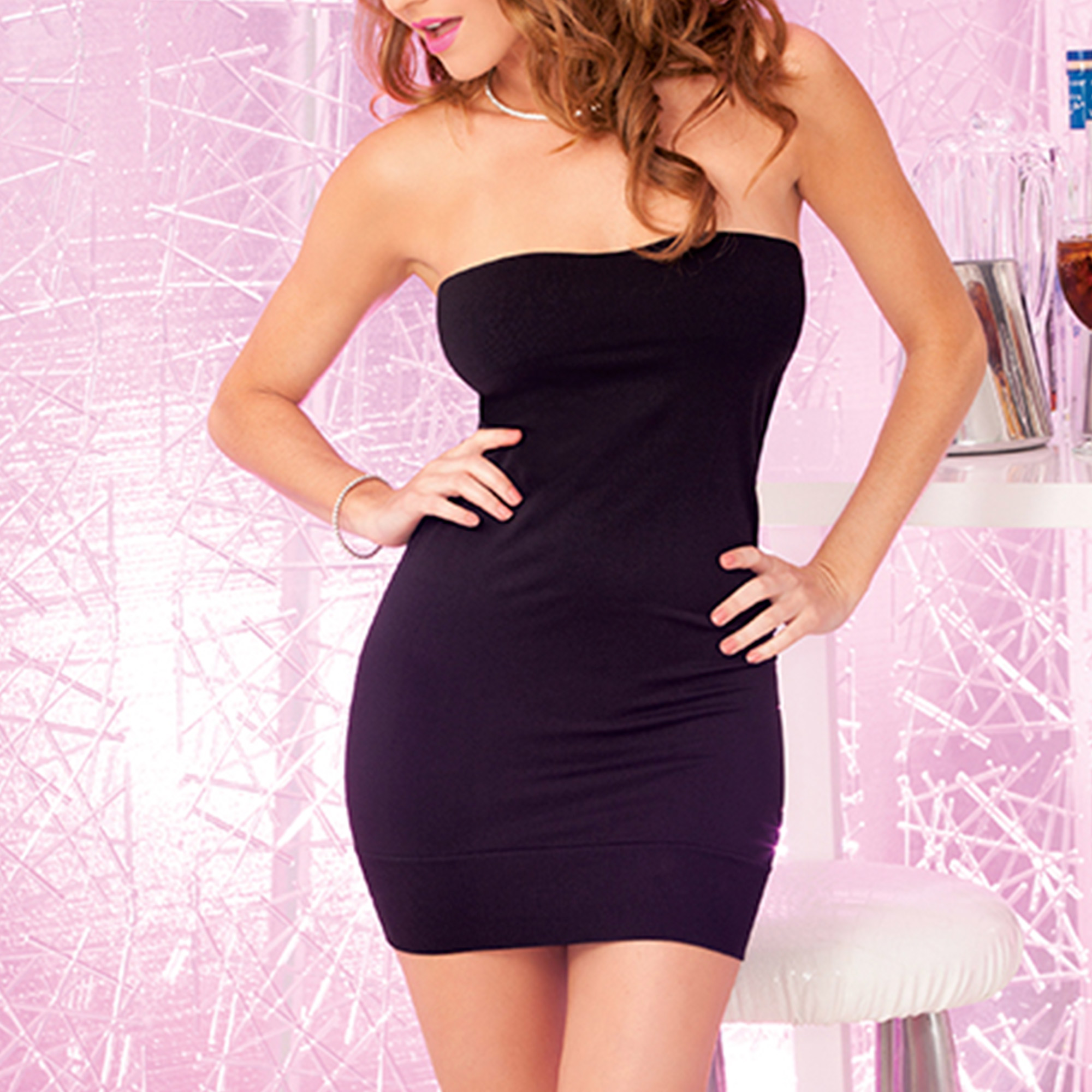 Perfect Black Tube Dress