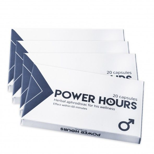 Power Hours - 160styck REA