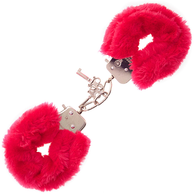 Furry Love Cuffs - Röd