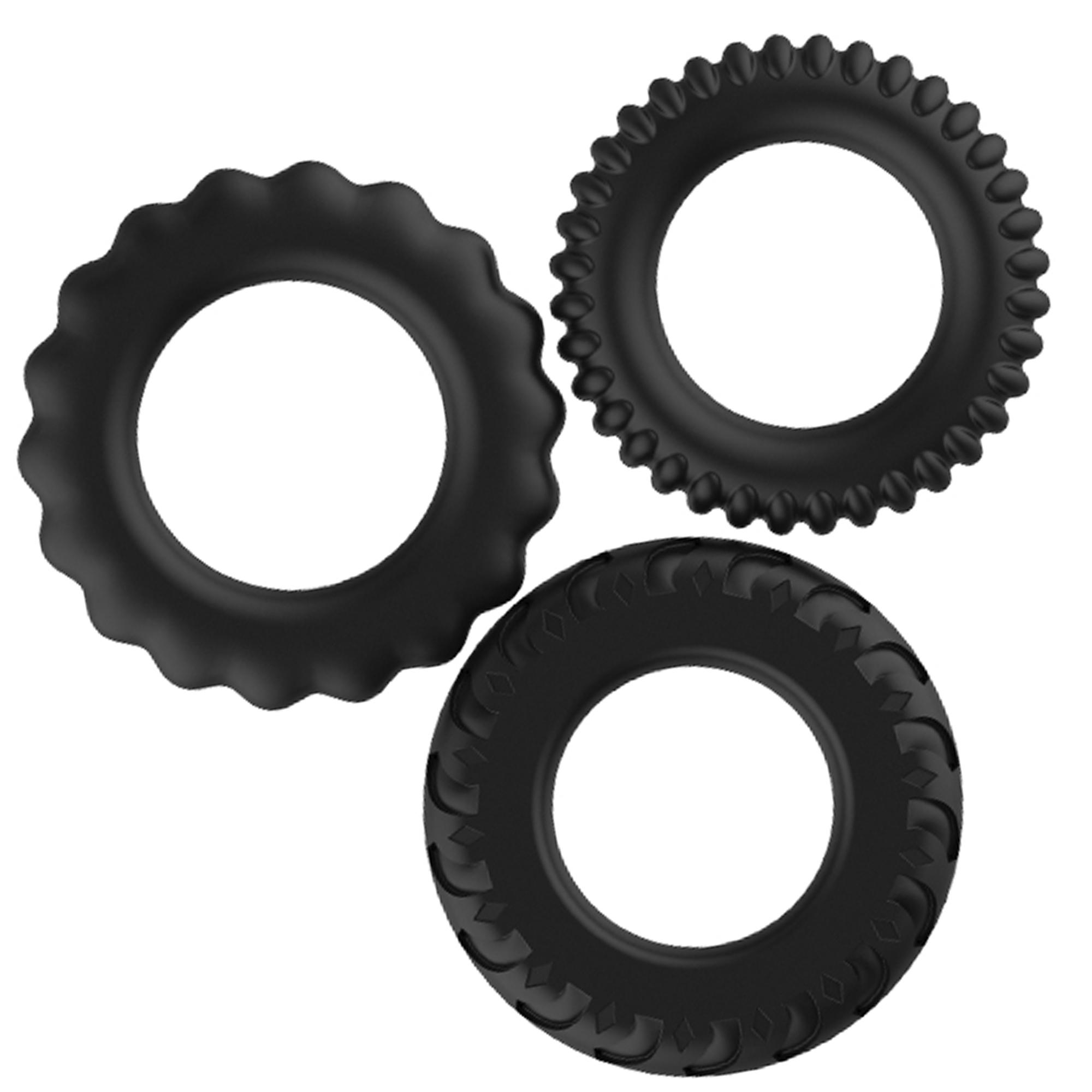 Titan 3-pack Rings