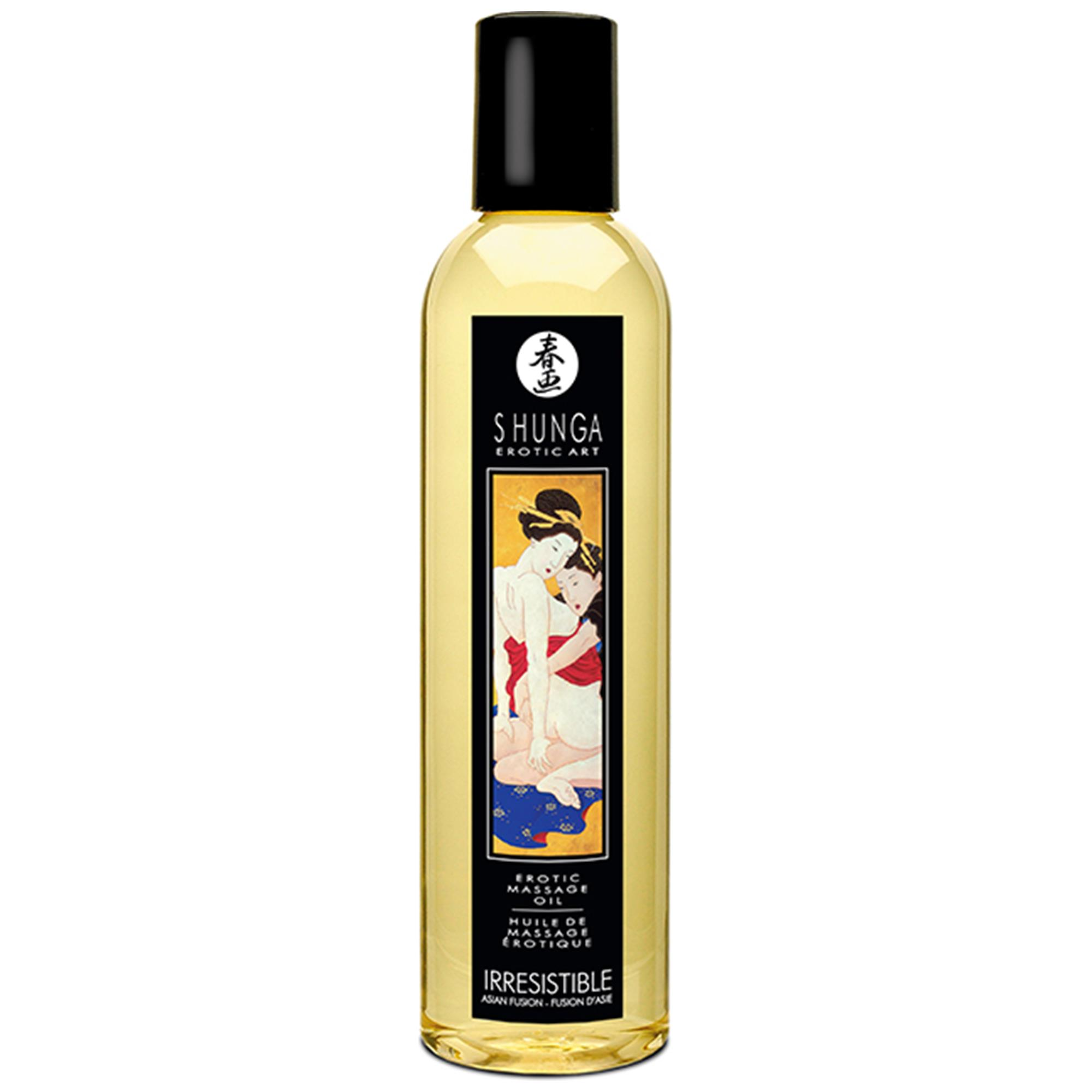 Shunga Massage Oil Asian Fusion (Irresistible) | Apotek, Massage, Massageolja | Intimast.se - Sexleksaker