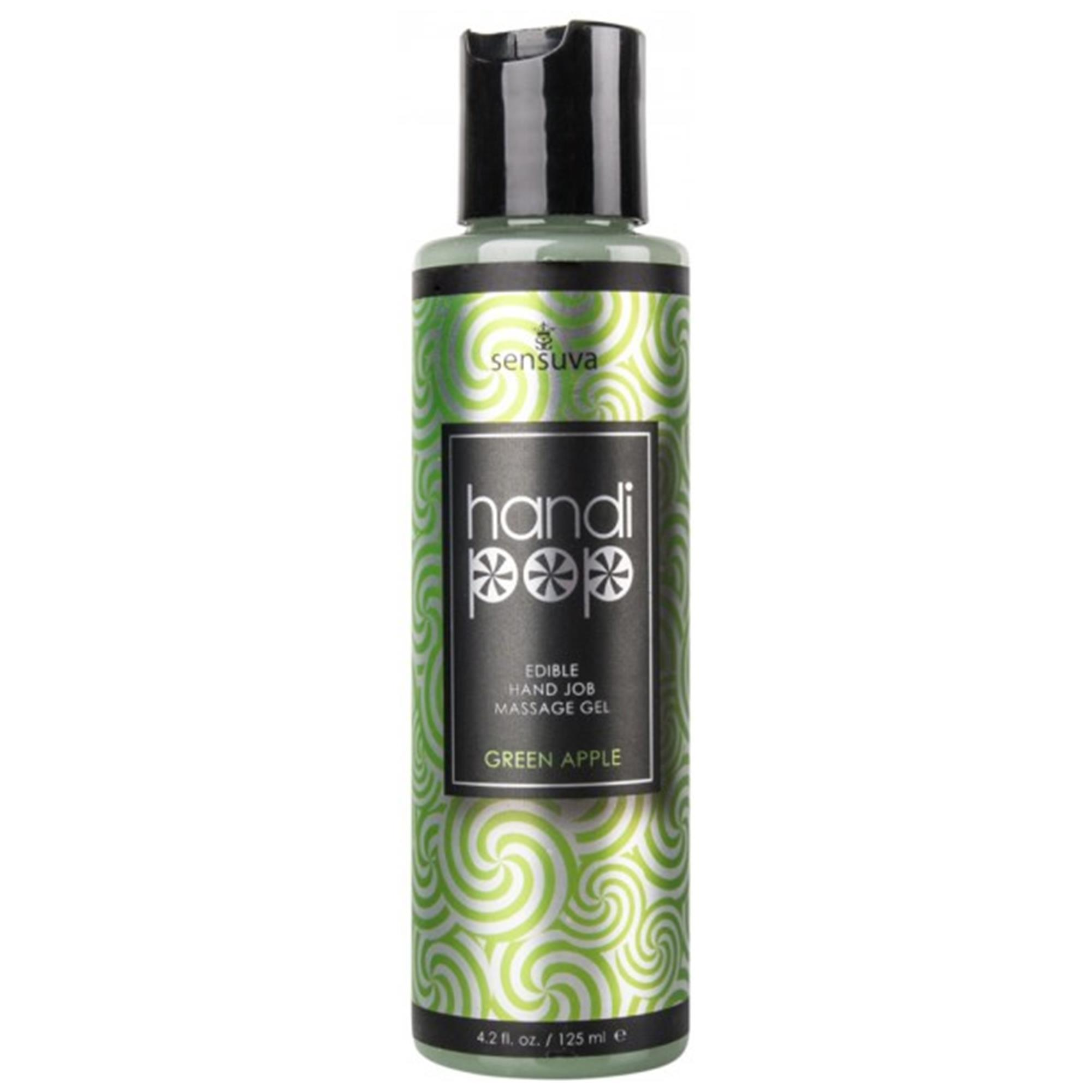 Handipop Massage Gel - Green Apple 125ml | Apotek, Massage, Massageolja | Intimast.se - Sexleksaker