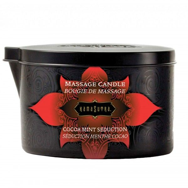 Kama Sutra Massage Candle Cocoa Mint