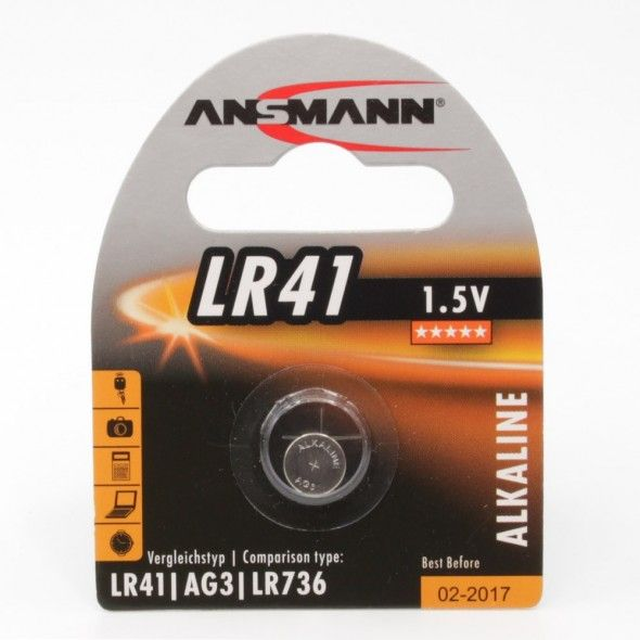 Batteri LR41