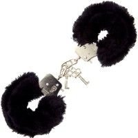 Furry Love Cuffs - Svart