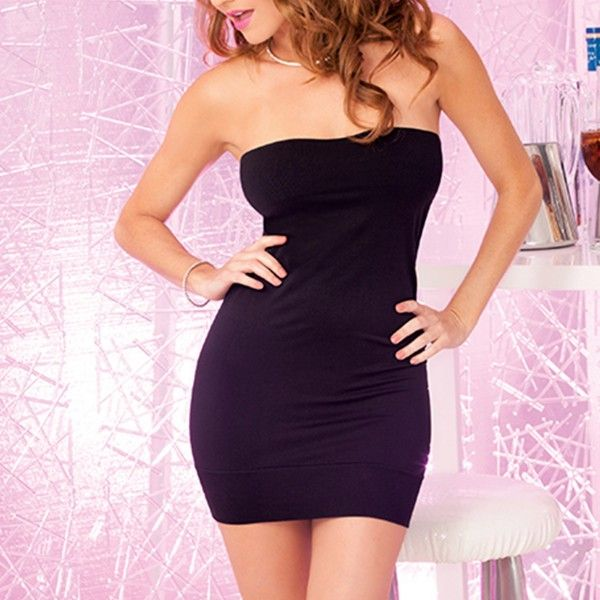 Perfect Black Tube Dress