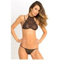 2PC Most Wanted Lace Bra G Set