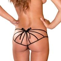 Crotchless Cage Back
