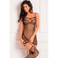 To The Nines Bodystocking OS
