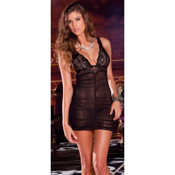 Ruch Mesh Lace Chemise