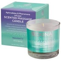 Dona - Scented Massage Candle - Naughty - 135 g