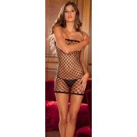 Diamond Net Tube Dress