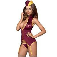 Stewardess Suit Costume
