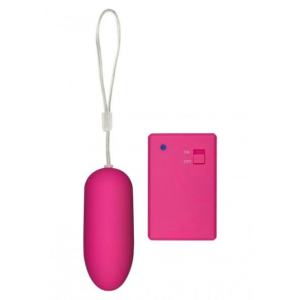 Funky remote egg pink
