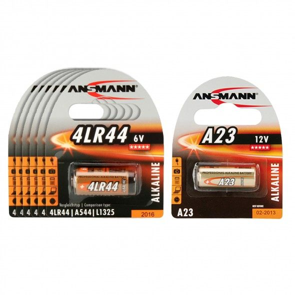 Batteripaket 6 x LR44 + A23
