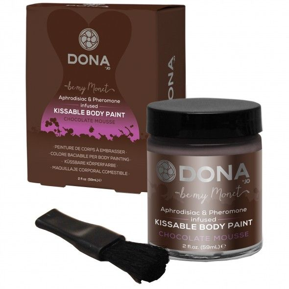 Dona bodypaint - chocolate cream